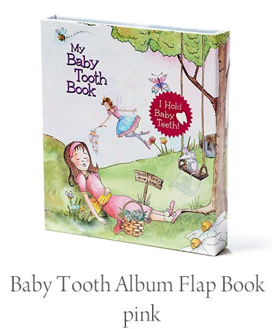aby Tooth Album Flap Book pink