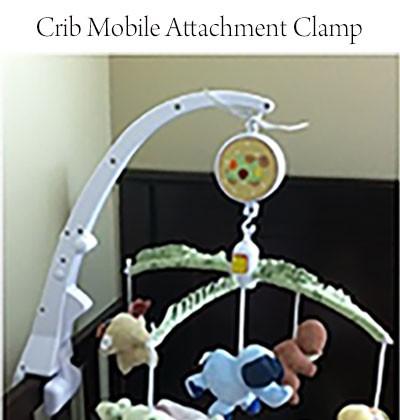 Crib Mobile Attachment Clamp