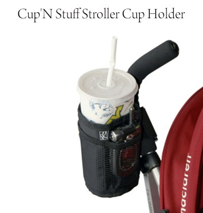 Cup'N Stuff Stroller Cup Holder