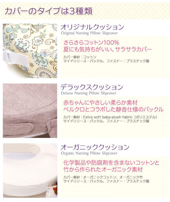 カバーのタイプは3種類、すべて互換性があります